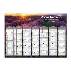 Calendrier mural A3 Collection 2017 - Affiches Vintages
