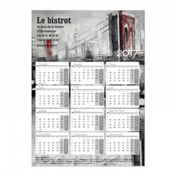 Calendrier magnétique Collection 2016 - Humour