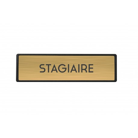 Badge luxe Stagiaire