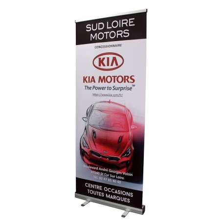 Roll-up pour concession Kia Motors
